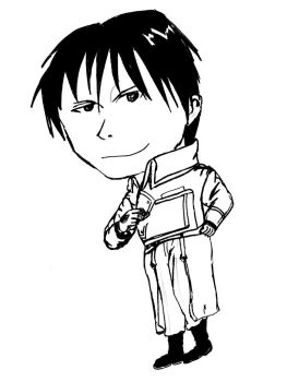 Roy Mustang: silly version by weregeek