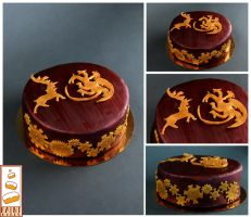 paint cakes Game of thrones by Paintcakes