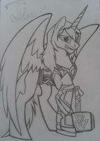 MLP: Thor Odinson (normal mode) by lizzytheviking