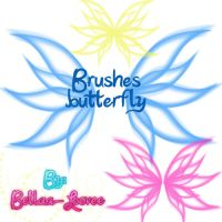 Butterfly Brushes by Bellaa-Loovee