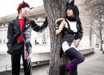 Adam and Blake Cosplay - RWBY by CrystalMoonlight1