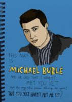 Michael Buble by qessjah