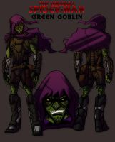 The Unusual Green Goblin by IHComicsHQ