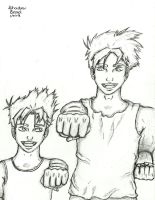 Request: Dameon and Kyle by l-Shadow-Bard-l