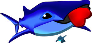 Whale Shark chibi by yournamehere8888