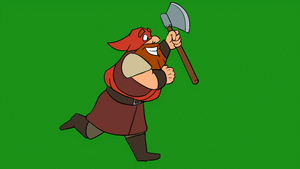 Executioner Running Colored Animation Cycle by gnomKOLIN