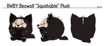 RWBY Beowolf Squishable Plush by mirzers