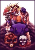 Street Fighter EX Tribute by fedde