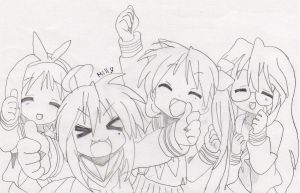 Lucky Star By O Omillyo O-d4fs084 by ImTheDeathNote