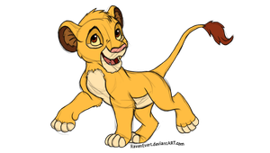 Simba (Redraw) by RavenEvert