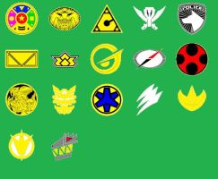 Power Ranger Icon Pack 2 by chaz1179