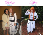 Orihime Cosplay Turnaround by BlumberBerrry