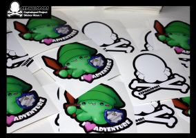 Cephalopods Stickers Wave 1 by ObscureGraphics