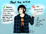 Meet The Artist by 2852-8139-3580
