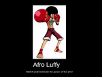 Afro Luffy by archsage328