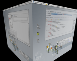 Linux 3d style by neil78b