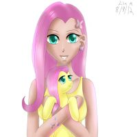 My Little Fluttershy by ShadowPaint-LisaM