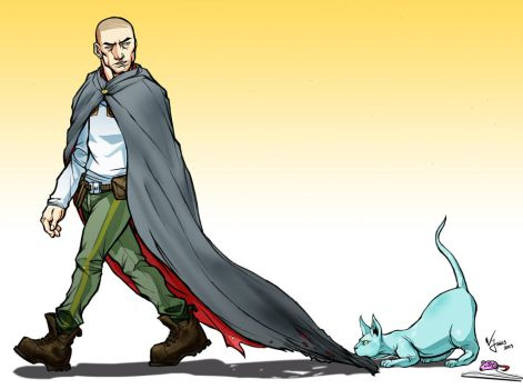 Saga Fan Art -The Will and young Lying Cat by WillJonesArt