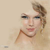 Taylor Swift by dankershaw