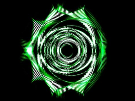 Sound Wave Rose by Epros-as-is