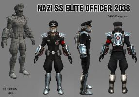 2038 Nazi SS Officer by Kuehn