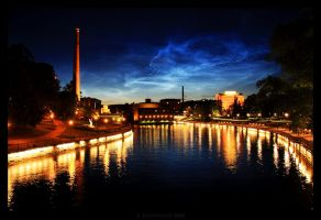 Tammerkoski at Tampere by rkmcmetal