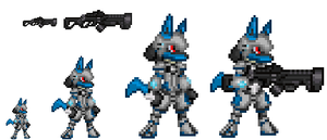 RWE Battle Armour Sprited by ralord