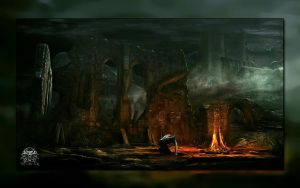 Derelict Ruins Wallpaper by Lord-Reynard