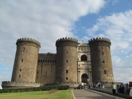 STOCK ~ Castle from Naples Italy by SoniaJosie