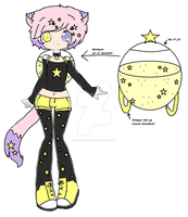 new oc-stardust by Chibii-chii