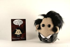 Sweeney Todd Mini Plushie by Saint-Angel