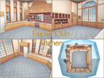 CM3D2 to MMD: Empire club Kitchen by kaahgomedl