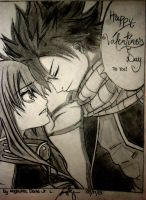 Fairy Tail NaLu for Valentines Day by dj216