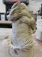 Cloud Serpent WIP by KatherineReedKS