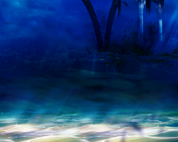 Deep Sea Background by angellella-stock