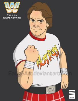 WWE Fallen Superstars: Rowdy Roddy Piper by EadgeArt