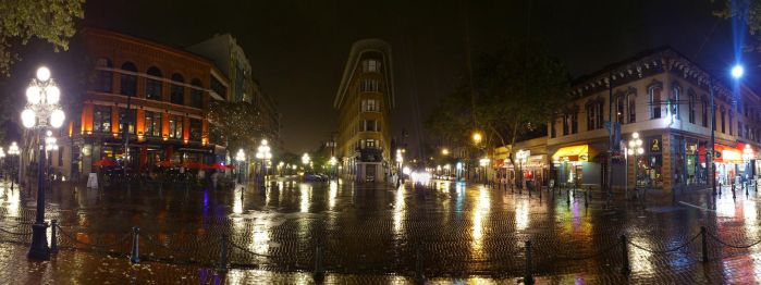 Gastown by Night by zephyron