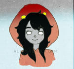 Aradia colored by altryturtle