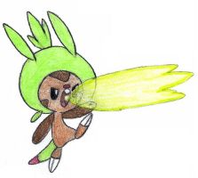 Chespin by FrozenFeather