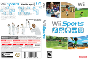 Wii Sports - DVD Case by TRIFORCE89