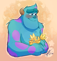 Blushy Sulley by LillayFran