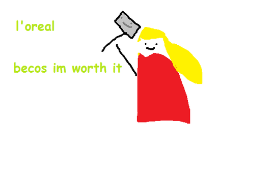 Thor by mspaintmasterpieces