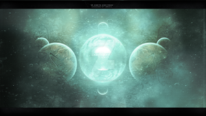 Planets And Orbs by ZeyronDesigns