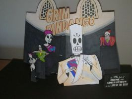 Grim Fandango Pop Up by WillziakDS
