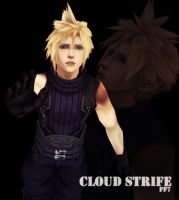 Final Fantasy 7 - Cloud MMD by Urusagi