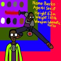 *READ DESCRIPTION!* DB OC: Berko by ForestBugDA
