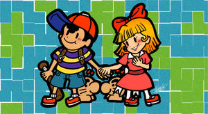 Ness And Paula by Buddha-Cat