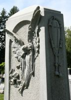 Mount Olivet Cemetery Angel 152 by Falln-Stock