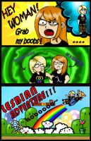 Lesbian adventure by The-TraveIing-Itch