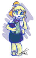 Isabelle by ToLoveaKiwi
